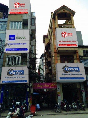 Showroom máy bơm nước Pentax đầu tiên tại Việt Nam