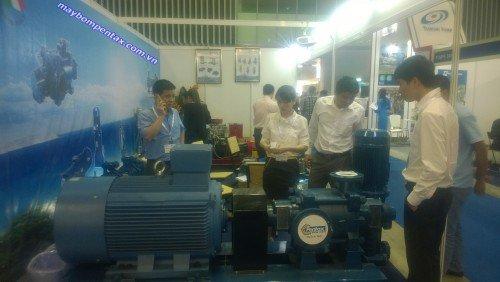 Triển lãm máy bơm Pentax công suất lớn