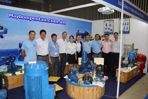 Sự kiện triển lãm máy bơm Pentax tại TP.HCM