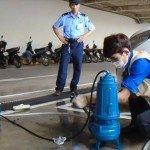Lắp đặt máy bơm pentax thoát nước thải